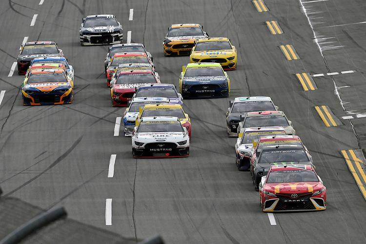 #23: Bubba Wallace, 23XI Racing, Toyota Camry McDonald's and #1: Kurt Busch, Chip Ganassi Racing, Chevrolet Camaro Monster Energy