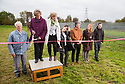 12/10/18<br /> <br /> Unveiling day at the new sculpture park on the Salt Brook Trail in Hatton, overlooking the Nestlé factory in Derbyshire.<br /> <br /> All Rights Reserved, F Stop Press Ltd. (0)1335 344240 +44 (0)7765 242650  www.fstoppress.com rod@fstoppress.com