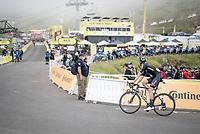 Cees Bol (NED/DSM) up Luz Ardiden<br /> <br /> Stage 18 from Pau to Luz Ardiden (130km)<br /> 108th Tour de France 2021 (2.UWT)<br /> <br /> ©kramon
