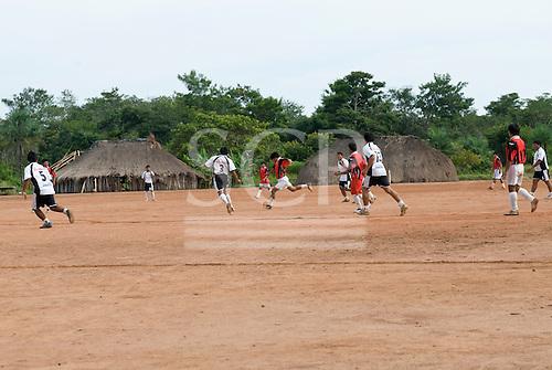 Xingu Indigenous Park, Mato Grosso State, Brazil. Aldeia Matipu (Matipu).