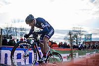 Fabien Canal (FRA)<br /> <br /> Men's Elite race <br /> <br /> UCI 2019 Cyclocross World Championships<br /> Bogense / Denmark<br /> <br /> <br /> ©kramon