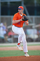 Cade Elliott (13) during the WWBA World Championship at the Roger Dean Complex on October 10, 2019 in Jupiter, Florida.  Cade Elliott attends Daniel Boone High School in Gray, TN and is committed to Tennessee.  (Mike Janes/Four Seam Images)