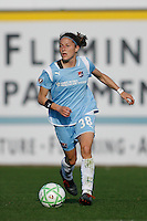 Julianne Sitch (38) of Sky Blue FC. The Los Angeles Sol defeated Sky Blue FC 2-0 during a Women's Professional Soccer match at TD Bank Ballpark in Bridgewater, NJ, on April 5, 2009. Photo by Howard C. Smith/isiphotos.com