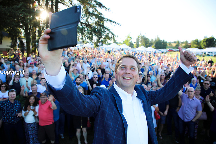 HAND OUT PHOTOS - Conservative leader Andrew Scheer in 2018