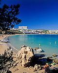 ESP, Spanien, Balearen, Menorca, Arenal d en Castell: moderner Ferienort im Norden | ESP, Spain, Balearic Islands, Menorca, Arenal d en Castell: popular resort in the north