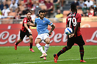 Felipe Anderson of SS Lazio in action during the Serie A 2021/2022 football match between AC Milan and SS Lazio at Giuseppe Meazza stadium in Milano (Italy), August 29th, 2021. Photo Image Sport / Insidefoto