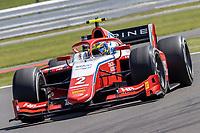 16th July 2021; Silverstone Circuit, Silverstone, Northamptonshire, England; F2 British Grand Prix, Free Practice; Oscar Piastri in his Prema Racing Dallara F2 2018