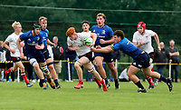 Saturday 4th September 20218 <br /> <br /> Mark Lee during U18 Clubs inter-pro between Ulster Rugby and Leinster at Newforge Country Club, Belfast, Northern Ireland. Photo by John Dickson/Dicksondigital