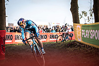 Evie Richards (GBR/Trek Factory Racing CX)<br /> <br /> <br /> Elite Womens Race <br /> UCI Cyclocross Worldcup – Hoogerheide (NED)<br /> ©kramon