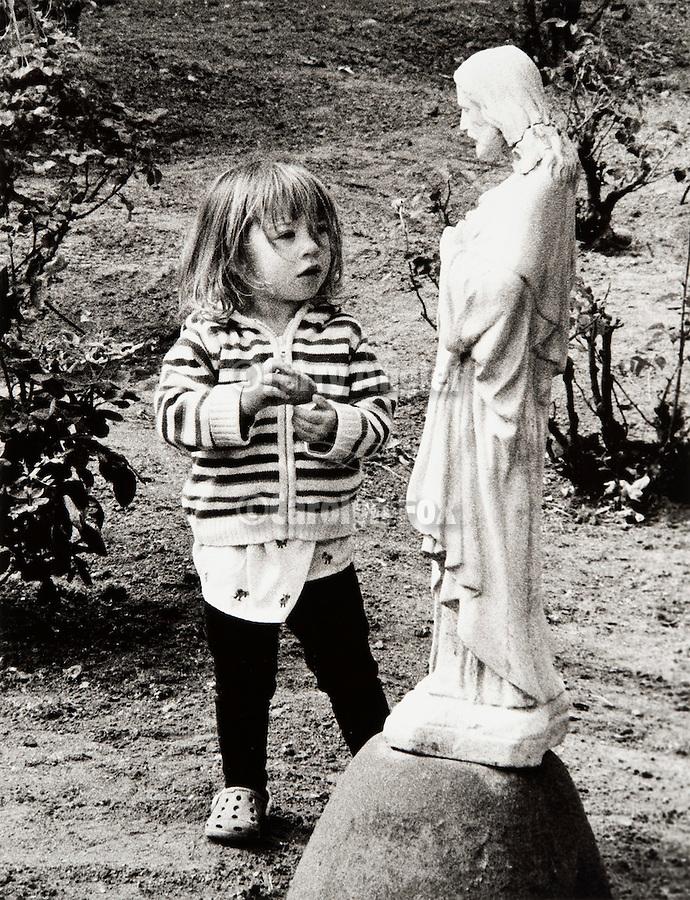 Dale Dani-The Child in Wonderment..Mission San Antonio de Padua Portfolio.Photographed April 2011 and published September 2011...