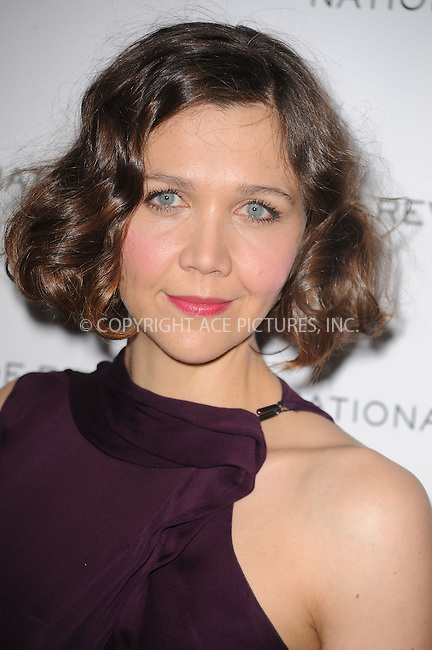 WWW.ACEPIXS.COM . . . . . ....January 12 2010, New York City....Actress Maggie Gyllenhaal arriving at the National Board of Review of Motion Pictures Awards gala at Cipriani 42nd Street on January 12, 2010 in New York City.....Please byline: KRISTIN CALLAHAN - ACEPIXS.COM.. . . . . . ..Ace Pictures, Inc:  ..(212) 243-8787 or (646) 679 0430..e-mail: picturedesk@acepixs.com..web: http://www.acepixs.com