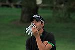 Pablo Larrazabal (ESP) waits for Thomas Aiken to play on the 18th hole Day 3 of the Open de Espana at Real Club De Golf El Prat, Terrasa, Barcelona, 7th May 2011. (Photo Eoin Clarke/Golffile 2011)