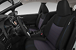 Front seat view of a 2018 Nissan Leaf N Connecta 5 Door Hatchback front seat car photos