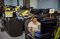 Kashi, Xinjiang Province, May 2014 - Internet Bar