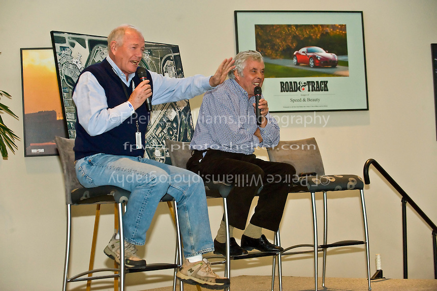 Brian Redman speaks at the Road & Track luncheon. 22-25 January, 2009, Daytona Beach, Florida USA..©F.Peirce Williams 2009.F.Peirce Williams.photography