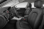 Front seat view of a 2014 Audi A6 AVUS 4 Door Sedan 2WD