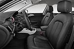 Front seat view of a 2014 Audi A6 AVUS 4 Door Sedan 2WD