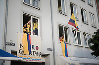 "Naironistas<br /> <br /> ""Le Grand Départ"" <br /> 104th Tour de France 2017 <br /> Team Presentation in Düsseldorf/Germany"