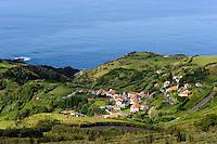 Lajedo auf der Insel Flores, Azoren, Portugal