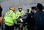 Large explosion rocks central Madrid