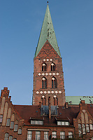 Marienkirche, Hanseatic City of Lübeck,Schleswig-Holstein, Germany