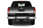 Straight rear view of a 2013 Nissan Frontier Crew Cab SV 4wd2013 Nissan Frontier Crew Cab SV 4wd