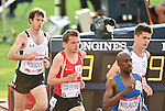 Wales' Dewi Griffiths, centre, runs in the 10,000m final<br /> <br /> Photographer Chris Vaughan/Sportingwales<br /> <br /> 20th Commonwealth Games - Day 9 - Friday 1st August 2014 - Athletics - Hampden Park - Glasgow - UK