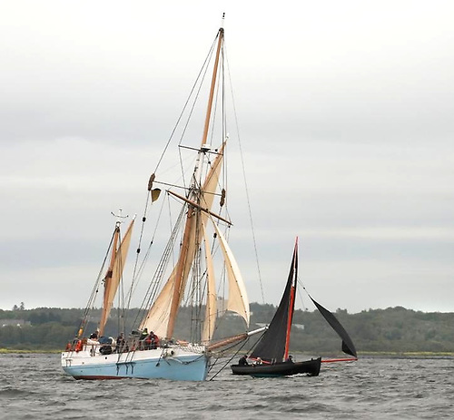 Ilen is a fine sight on Galway Bay. Photo: Deirdre Power
