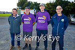 Members of Tralee Parnells taking part in their run4pieta fundraiser in Caherslea on Friday.l to r: Kieran Fitzgerald, Dermot Reen, Stephen Buttermore (Chairperson) and Michael Cassidy.