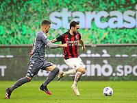 Milano 01-05 2021<br /> Stadio Giuseppe Meazza<br /> Serie A  Tim 2020/21<br /> Milan - Benevento<br /> Nella foto: Hakan Calhanoglu                                     <br /> Antonio Saia Kines Milano