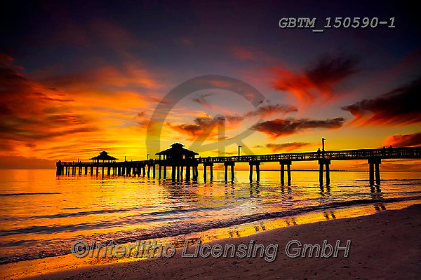 Tom Mackie, LANDSCAPES, LANDSCHAFTEN, PAISAJES, photos,+America, American, Americana, Florida, Fort Myers, Gulf of Mexico, North America, Tom Mackie, US, USA, United States, United+States of America, atmosphere, atmospheric, back-lit, backlight, backlit, bay, beach, beaches, cloud, clouds, cloudscape, coa+st, coastal, coastline, coastlines, color, colorful, colour, colourful, composition, contre-jour, dramatic outdoors, dusk, ea+rly, evening, exotic, gold, golden, holiday destination, holidays, horizon, horizontal, hor,America, American, Americana, Flo+,GBTM150590-1,#l#, EVERYDAY