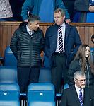 05.05.2018 Rangers v Kilmarnock: Mark Allen and Dave King