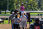 September 05, 2020: Judge N Jury #8, ridden by Kendrick Carmouche, trained by  Danny Gargan  wins the 2nd Race on New York Bred Stakes at Saratoga Race Course in Saratoga Springs, New York. Rob Simmons/CSM