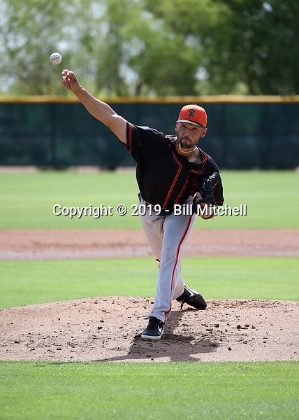 Alex DuBord - San Francisco Giants 2019 extended spring training (Bill Mitchell)