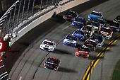 2017 Monster Energy NASCAR Cup - Can-Am Duels<br /> Daytona International Speedway, Daytona Beach, FL USA<br /> Thursday 23 February 2017<br /> Denny Hamlin, FedEx Express Toyota Camry takes the checkered flag and win<br /> World Copyright: Michael L. Levitt/LAT Images<br /> ref: Digital Image levitt-0217-D500_22387