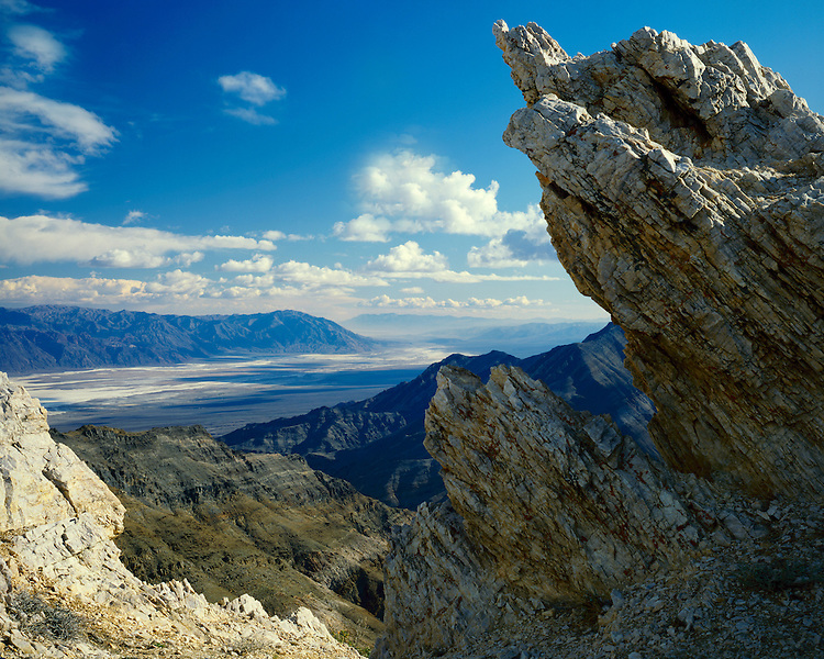 View south from Aguereberry Point; Death Valley National Park, CA