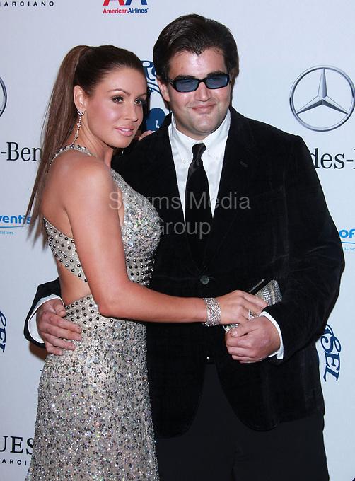 BEVERLY HILLS, CA - OCTOBER 23:  Jason Davis and Rachel Uchitel at the 32nd Anniversary Carousel Of Hope Gala at the Beverly Hilton Hotel on October 23, 2010 in Beverly Hills, California<br /> <br /> <br /> People:  Jason Davis_Rachel Uchitel