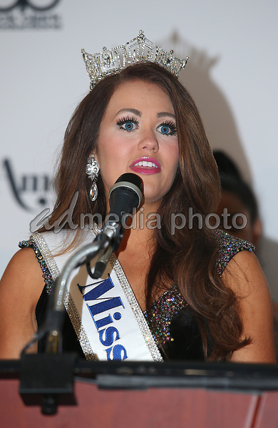 10 September 2017 - Atlantic City, NJ-  Miss America 2018 Cara Mund.  2018 Miss America Pageant Winner Press Conference at Boardwalk Hall.  Photo Credit: MJT/AdMedia