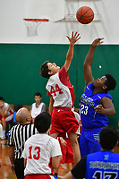 Aaron plays a Thanksgiving weekend basketball tournament In in Hayward, CA Nov. 25, 2018. (Photo by Alan Greth /AGP Productions)