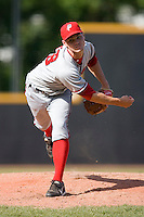 Starting pitcher Colton Willems #28 of the Potomac Nationals in action versus the Winston-Salem Dash at Wake Forest Baseball Park May 10, 2009 in Winston-Salem, North Carolina. (Photo by Brian Westerholt / Four Seam Images)