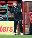 CALEY MANAGER TERRY BUTCHER..14/01/2012 sct_jsp018_motherwell_v_ict     .Copyright  Pic : James Stewart.James Stewart Photography 19 Carronlea Drive, Falkirk. FK2 8DN      Vat Reg No. 607 6932 25.Telephone      : +44 (0)1324 570291 .Mobile              : +44 (0)7721 416997.E-mail  :  jim@jspa.co.uk.If you require further information then contact Jim Stewart on any of the numbers above.........