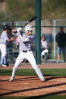Connor Walsh (16) of Niceville High School in Niceville, Florida during the Baseball Factory All-America Pre-Season Tournament, powered by Under Armour, on January 13, 2018 at Sloan Park Complex in Mesa, Arizona.  (Zachary Lucy/Four Seam Images)