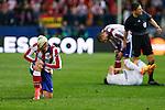 Atletico de Madrid's Griezmann during quarterfinal first leg Champions League soccer match at Vicente Calderon stadium in Madrid, Spain. April 14, 2015. (ALTERPHOTOS/Victor Blanco)