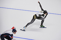 OLYMPIC GAMES: PYEONGCHANG: 18-02-2018, Gangneung Oval, Long Track, 500m Ladies, Nao Kodaira (JPN), ©photo Martin de Jong