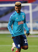 Huddersfield Town's Fraizer Campbell during the pre-match warm-up <br /> <br /> Photographer Ian Cook/CameraSport<br /> <br /> The EFL Sky Bet Championship - Swansea City v Huddersfield Town - Saturday 17th October 2020 - Liberty Stadium - Swansea<br /> <br /> World Copyright © 2020 CameraSport. All rights reserved. 43 Linden Ave. Countesthorpe. Leicester. England. LE8 5PG - Tel: +44 (0) 116 277 4147 - admin@camerasport.com - www.camerasport.com