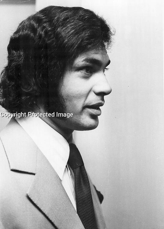 Singer Engelbert Humperdinck <br /> <br /> Photo : Boris Spremo - Toronto Star archives - AQP