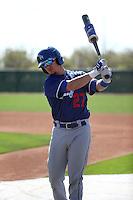 Omar Estevez - Los Angeles Dodgers 2016 spring training (Bill Mitchell)