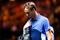 Rotterdam, The Netherlands, 12 Februari 2020, ABNAMRO World Tennis Tournament, Ahoy. Daniill Medvedev (RUS) sad about his loss.<br /> Photo: www.tennisimages.com