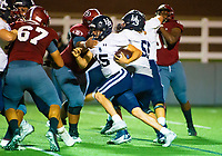 Drue McClendon (15) of Springdale Har-ber runs the ball against Springdale at Jarrell Williams Bulldog Stadium, Springdale, Arkansas on Friday, October 9, 2020 / Special to NWA Democrat-Gazette/ David Beach