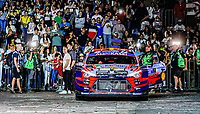 13th March 2020, Guanajuato, Mexico; WRC Rally of Mexico;   Thierry Neuville BEL and Nicolas Gilsoul BEL - Hyundai i20 Coupe WRC